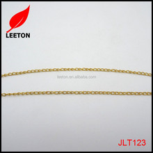 Wholesale high quality thin metal chain for bracelets