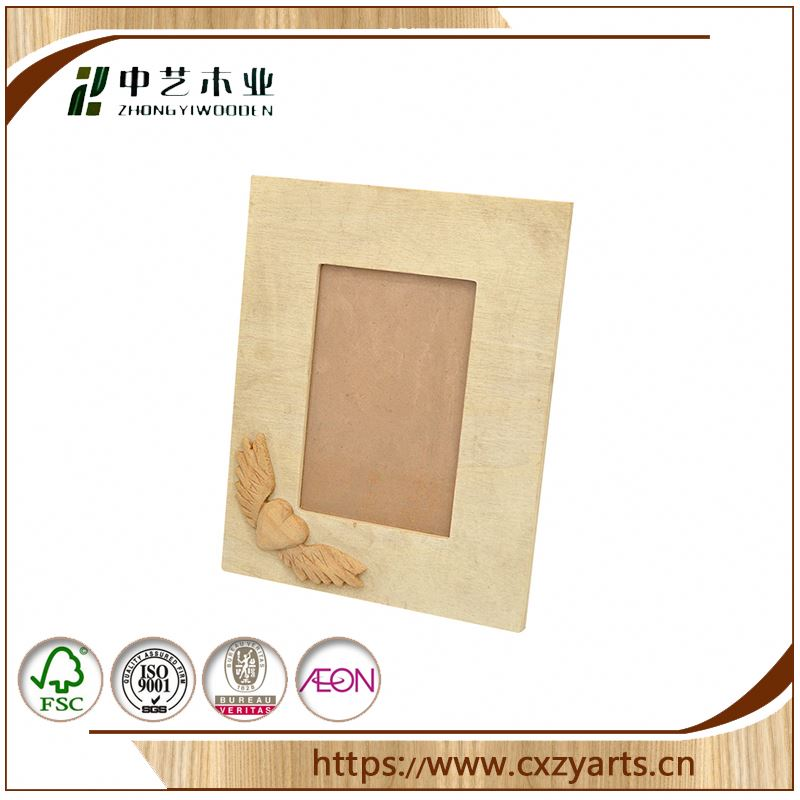 Professional Unique designed old wood photo frame picture frame