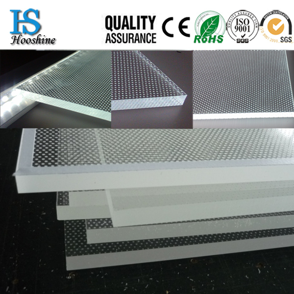 <strong>Advertising</strong> Light Guide Plate Display,Light Guide Plate PMMA LGP for LED Panel Light