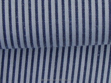 jiangsu make to order 100% Polyester 100*45 100*60 white and blue stripe fabric