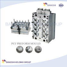 8 Cavities PET Injection Bottle Preform Mould