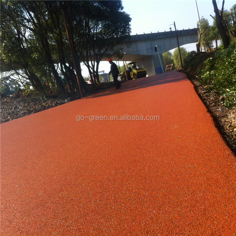 Colorless Asphalt Binder / Producer Use Asphalt Emulsion for Colored Asphalt