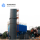 High Efficiency SO2 Gas Disposal With NaOH Limestone Desulfurization