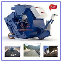 Portable Shot Blasting Machine Mobile Unit/Road Surface Wheel Sand Blasting Equipment