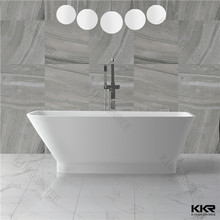 Kingkonree 2016 Modern Gabon Corner bath tubs /solid surface bathtubs for child