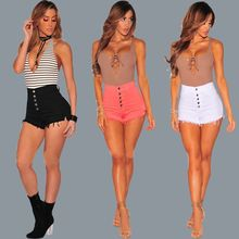 Foreign trade Amazon fast selling hot selling female fashion cowboy shorts pants