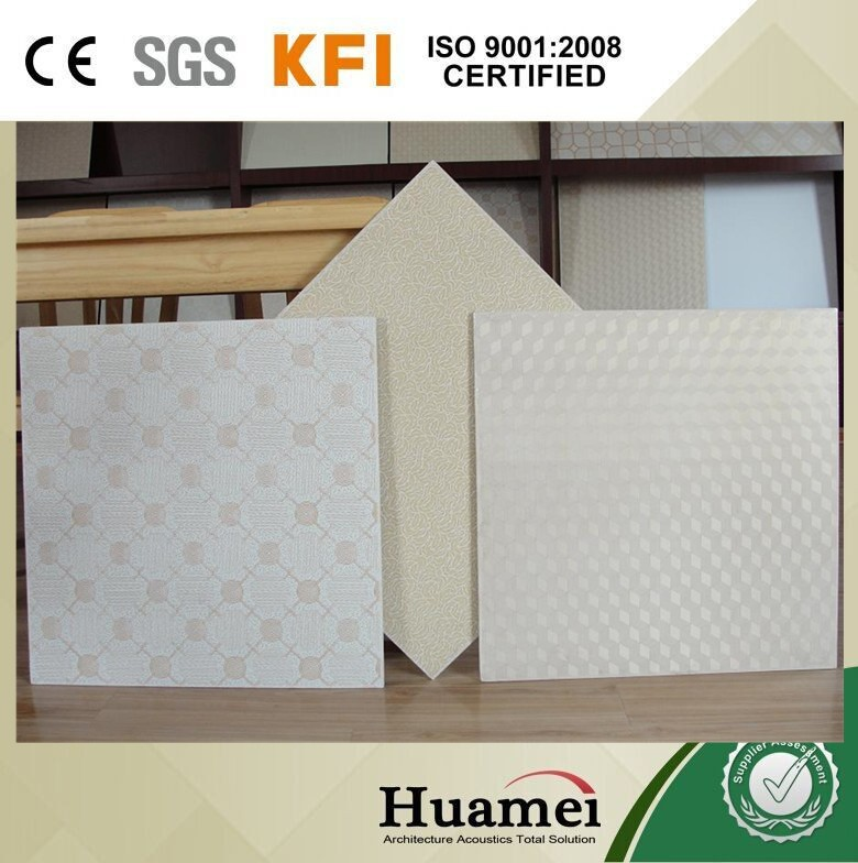 low price good-looking pvc face ceiling panels in china