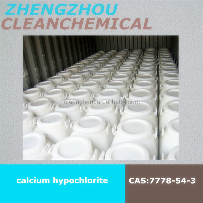 calcium hypochlorite Ca(ClO)2 for textile making industry bleaching