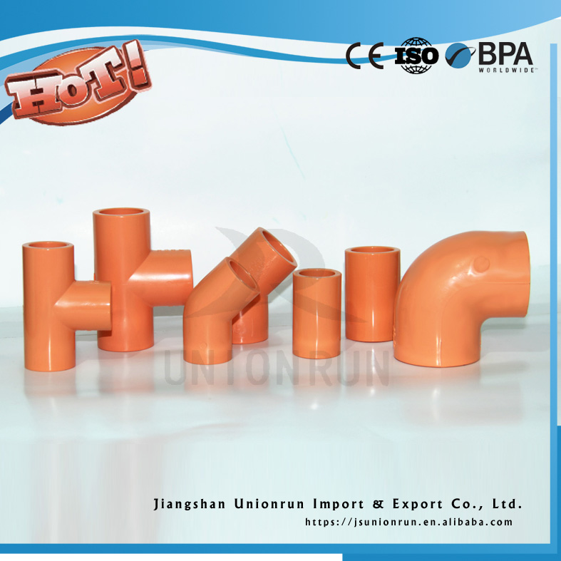 Plastic CPVC Pipe Fittings Fire Sprinkler Equipment With Low Price