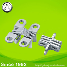 Stainless steel cross hinge invisible hinge