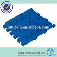 Good price 1005 lbp modular belts for accumulation conveyors /shrink packing machine