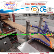 100% non pollution environmental friendly lesco wood plastic composite extrusion machine