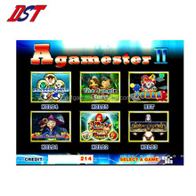 Multigame 6 in 1 Game Board Agamester 6 in 1 slot game