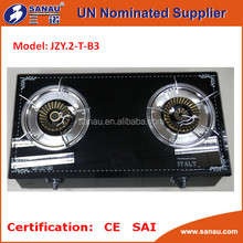SAI CE certification ISO 9001 gas cooker