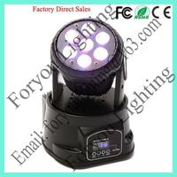 7x10w rgbw 4 in 1 leds super quality hot sale pro wash 7x10 (70 watt) quad led moving head light