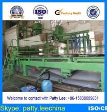 cotton stalk pulp making line, 1575mm 3-4ton/day 150m/min high speed tissue paper machine, wheat straw as raw material