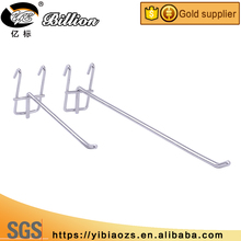 Good quality mobile phones and accessories wire hanging display hanging mesh hooks