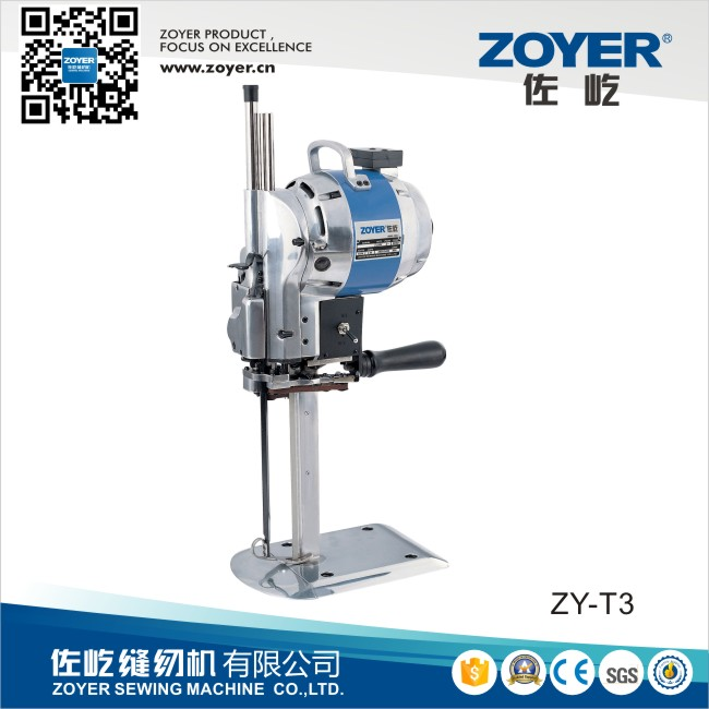 ZY-T3 Zoyer Eastman Km Auto-Sharpening Straight Knife garment cloth cutting machine