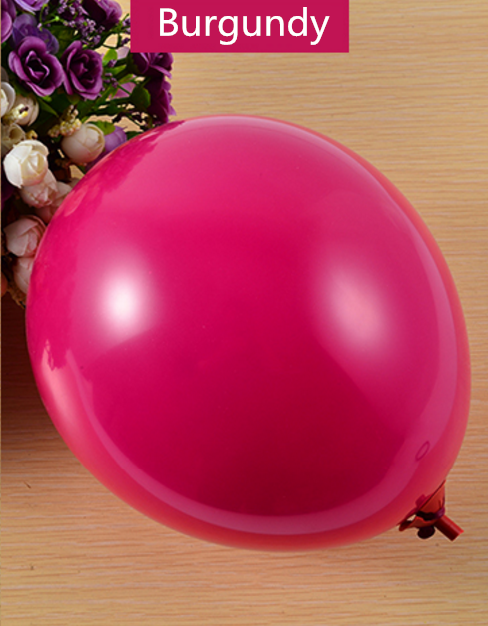 10 inches 2.2g full colors helium party balloons latex