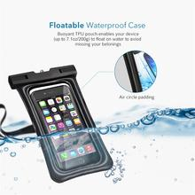 Universal Phone Case for iPhone,for Xiaomi IPX8 Waterproof Phone Case for Huawei,for LG Pouch Mobile Dry Bag Up to 6.0inch
