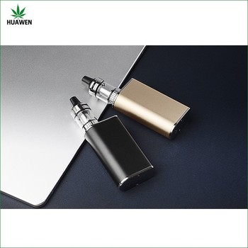 China manufacture glass chamber no glue oil container tank e cig rose gold vape mod
