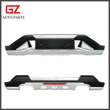Protective front and rear bumpers for Chevrolet Captiva