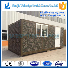 Luxury movable low cost prefabricated container house