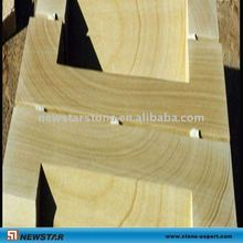 natural yellow wood sandstone window sill