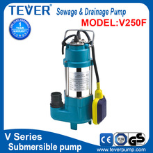 0.25 kw high quality submersible vertical inline sewage pump