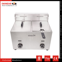 CHINZAO Widely Used Chinese Goods Chicken Potato Chips Gas Deep Fryer Machine