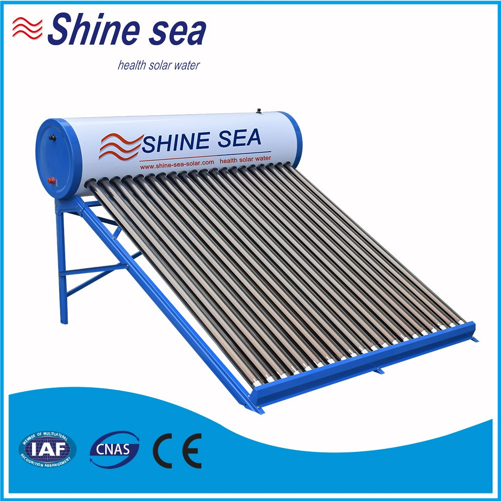 Hot selling factory price evacuated tube solar energy water heater