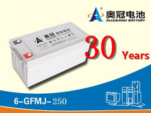 Rechargeable Deep-Cycle UPS AGM Gel Power Lead-Acid Battery 12V 220ah Gel Electric solar street light Battery