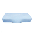 Cheap Ergonomic Private Logo Customized Orthopedic Butterfly Shaped Contoured Hotel Memory Foam Pillows For Sleeping