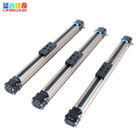 Low price aluminum cnc belt drive linear motion guide rail