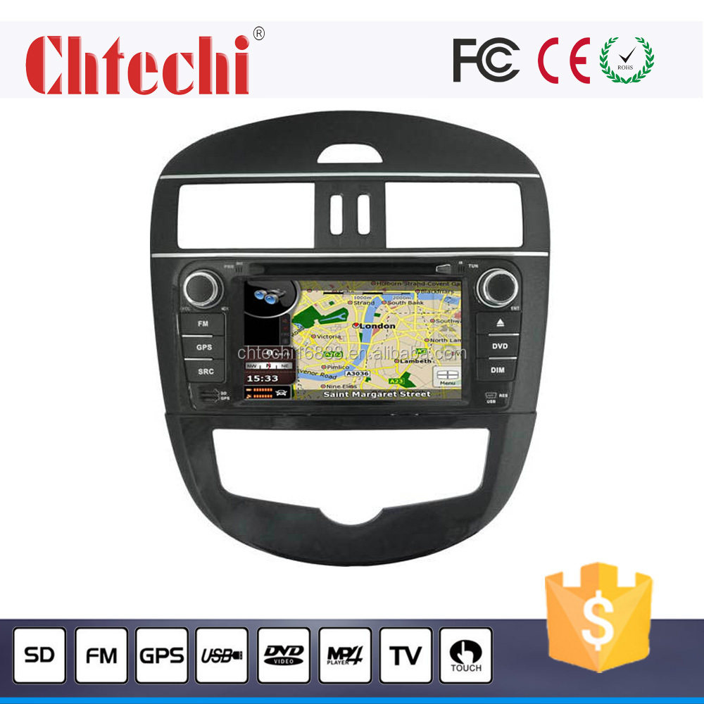 special car dvd player / car radio for TIDDA with GPS/Bluetooth