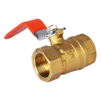 Irrigation Hand operated water level control Brass ball valve
