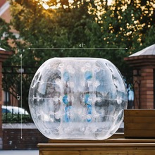TPU Football Non-toxic 1.2M Inflatable Bubble Bumper Zorb Ball for Outdoor Activity