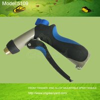 GreenYard 5109 FRONT TRIGGER ADJUSTABLE SPRAY NOZZLE Garden&Home Usage,ZINC ALLOY WITH PLASTIC High Pressure washing car tools
