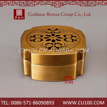 Super quality china exquisite oem traditional well price brass car incense