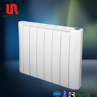 ADC 12 aluminum die casting electric designer heating radiator without oil filled