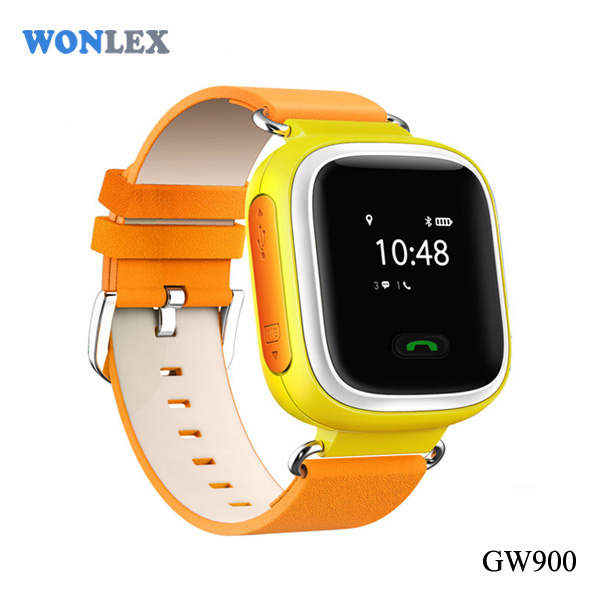 Wonlex Hot Sale Popular 2 Way Talk Kids Old People Smart Phone Watch with GPS Tracker Detachable Strap Fit Andriod IOS system