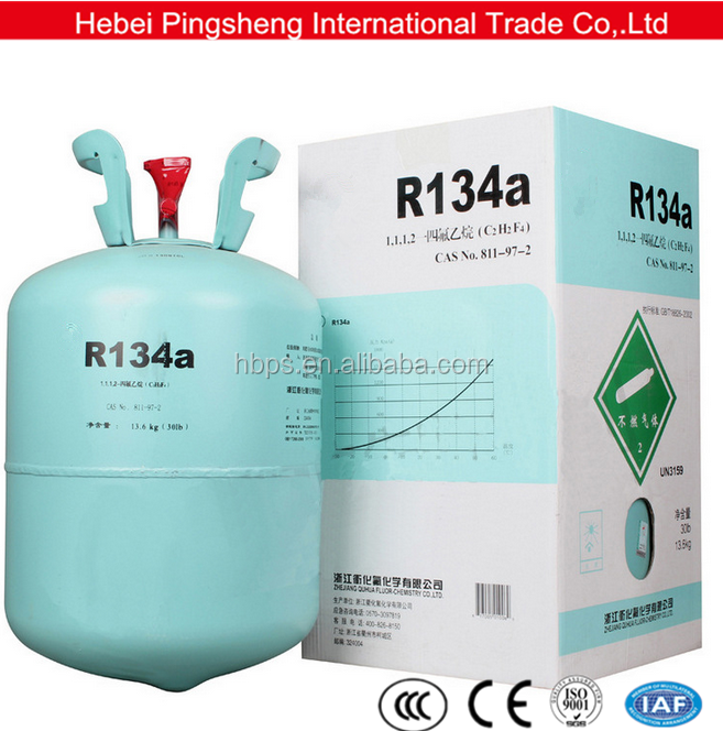 High purity 1kg cans used new air conditioner cool gas refrigerant r134a r600a