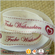 High quality elegant celebrate it cotton ribbon