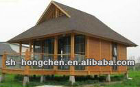 One storey Bali low cost prefabricated wood houses