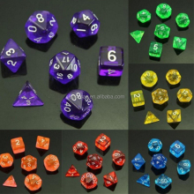 7 Stks/set Zijdig Sterven D4 D6 D8 D10 D12 D20 D & D D & D RPG Rollers Dice Game Online