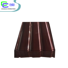 coloured corrugated roofing color coated steel sheets