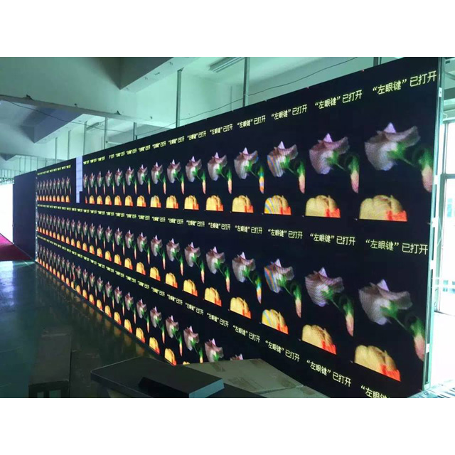 P4.81 View indoor led screen prices &xxx video play led screen Guangzhou