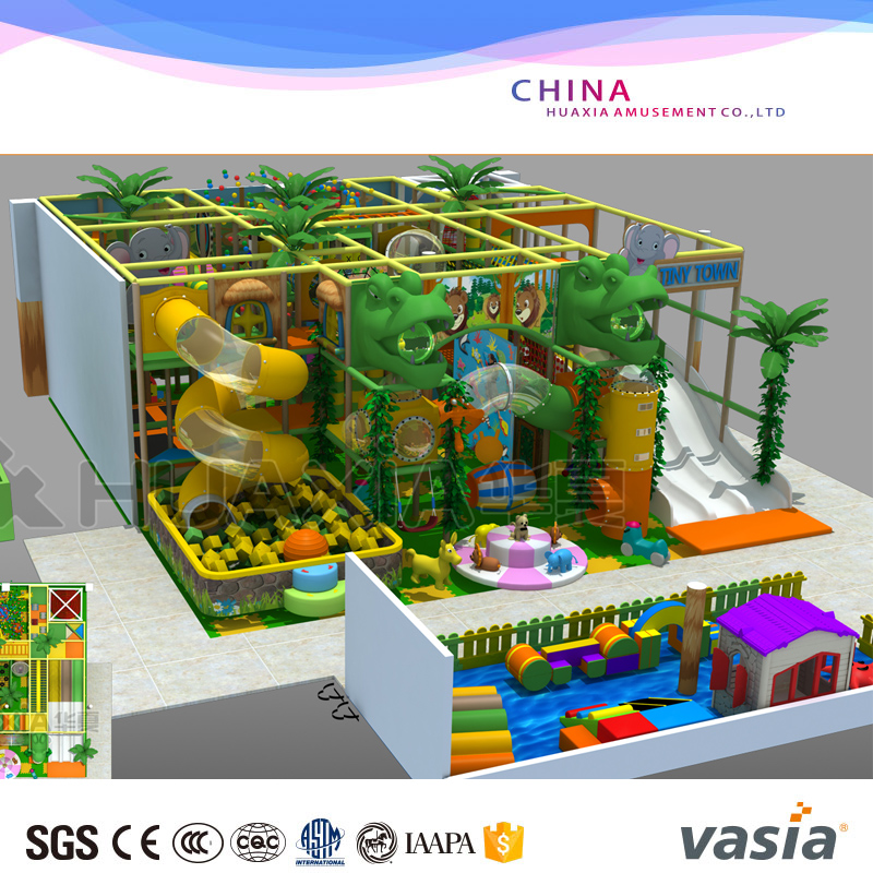 Latest Children play land indoor, play equipment Indoor playground Kids Play Area indoor