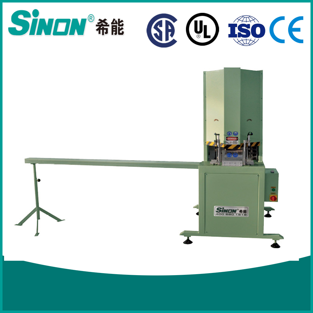 PVC Profile Window Door Mullion Cutting Saw Machine