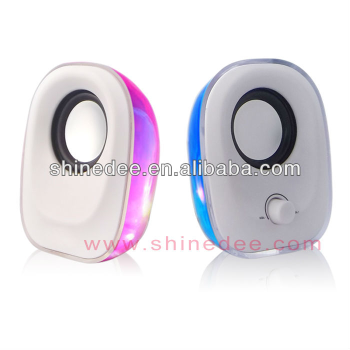 Portable mp3 audio player,usb mini speaker music box